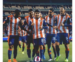 football, guadalajara, and soccer image