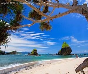 beach, relax, and exploreindonesia image
