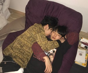 couple, gay, and asian image
