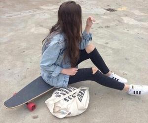 girl, adidas, and tumblr image