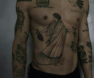 tattoo, boy, and tumblr image