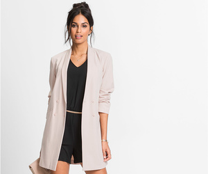 blazer, office, and overall image