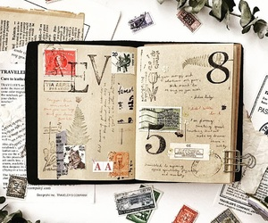 creative, journals, and memories image