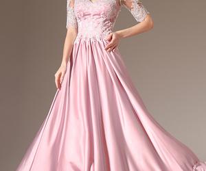 edressit rosa abendkleid image