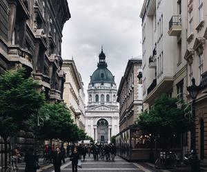 budapest, city, and europe image