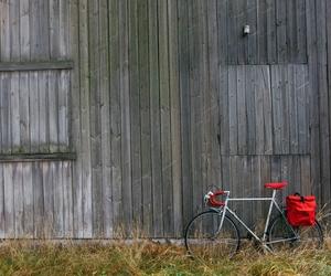 bicycle, bike bag, and cycling image