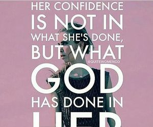 god, confidence, and confident image