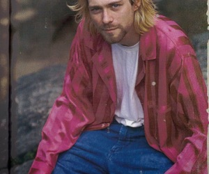 cobain, grunge, and icon image