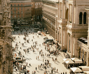 city, milan, and place image