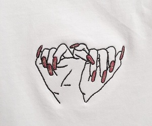 nails, art, and hands image