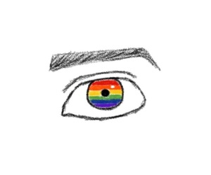 bisexual, lgbt, and draw image