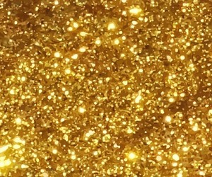 glitter, wallpaper, and yellow image