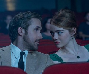 emma stone, mia, and ryan gosling image