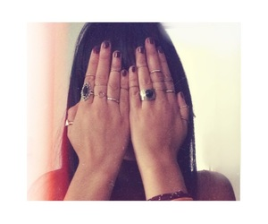 arab, nails, and rings image
