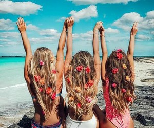 beach, inspiration, and friends image