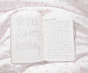 dreamy, sheets, and notebook image