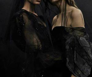 black, Couture, and goth image