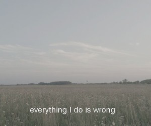 wrong, sad, and grunge image