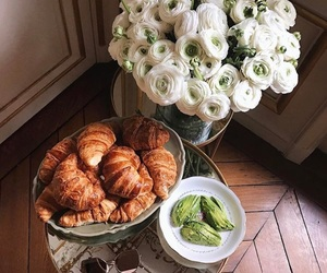 flowers, food, and fashion image