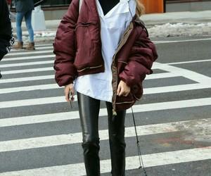 fashion, gigi hadid, and street style image