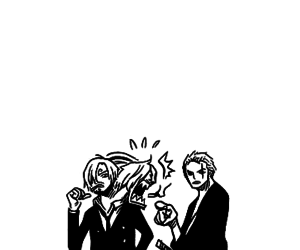 funny, zoro, and sanji image