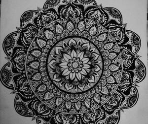 art, artwork, and blackandwhite image
