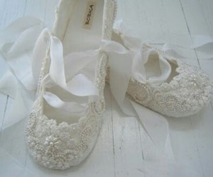 shoes, wedding, and ballet image