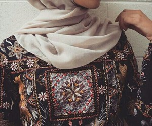 hijab, islam, and hijab fashion image