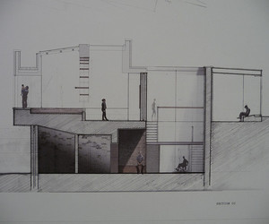 kingston, architectural drawings, and arkitektstuderende image