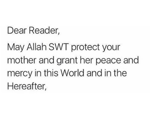 mother and muslim image