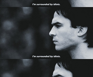 ian somerhalder, quote, and tvd image