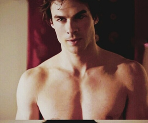 boy, the vampire diaries, and ian somerhalder image