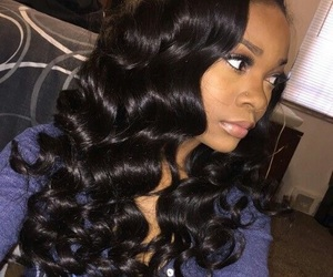 hair, weave, and bundles image