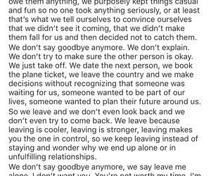 friendship, goodbye, and hurt image
