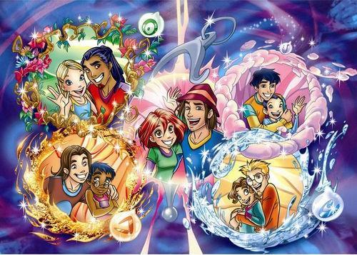 caleb, irma, and manga image