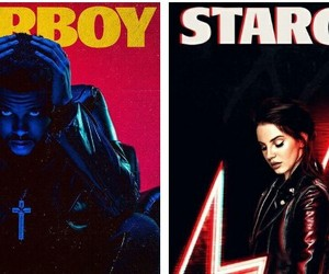 stargirl, starboy, and theweeknd image