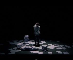 emotional, Lyrics, and notepad image