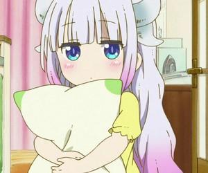 anime and dragon image
