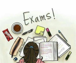 exam, study, and school image