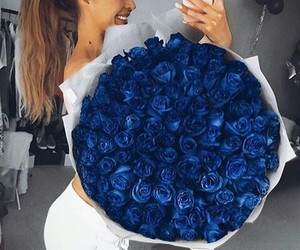 roses and blueroses image