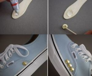 diy, shoes, and fashion image