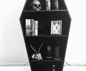 goth, home, and shelf image