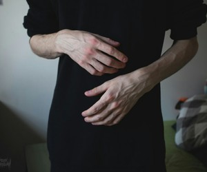 hands and boy image