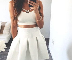 luxury, skirt, and cute image