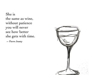 quotes, wine, and time image