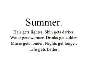 quote and summer image