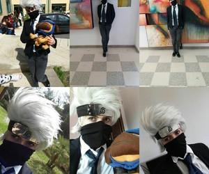 anime, cosplay, and kakashi image