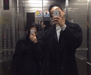 couple, ulzzang, and site model image