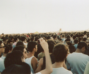 people, concert, and vintage image