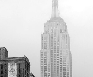 b&w, street, and building image